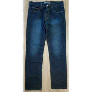 Givenchy Mens Modern Fit Blue Jeans Size 32 x 32